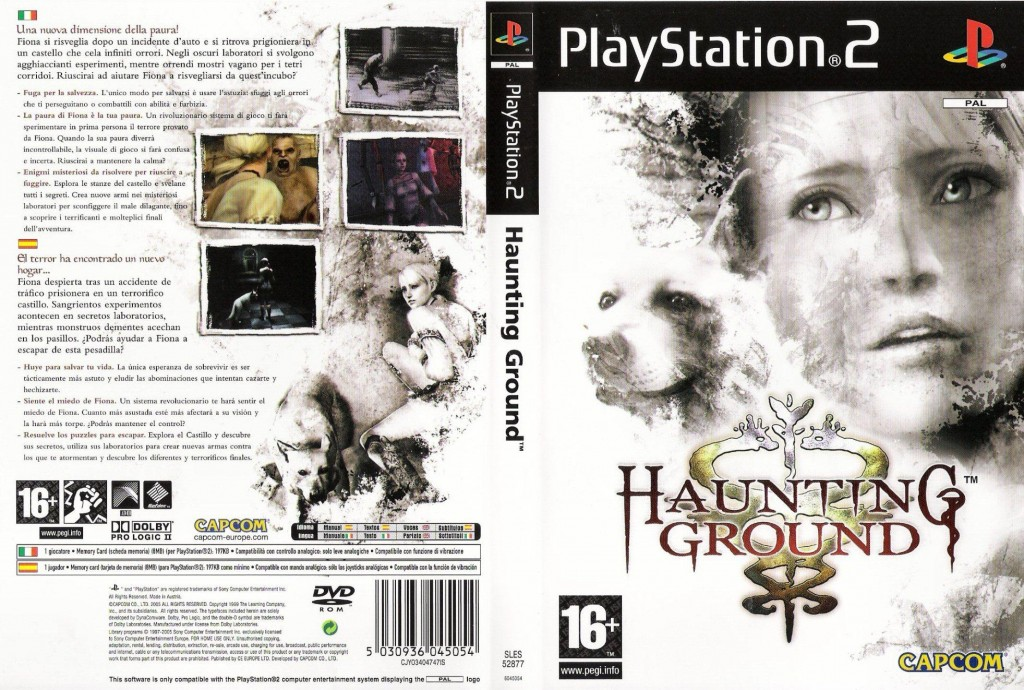 Haunting_Ground-DVD-PS2